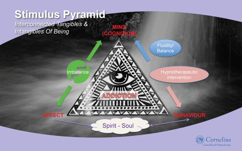 The Addiction Stimulus Pyramid of Mind, Affect and Behaviour