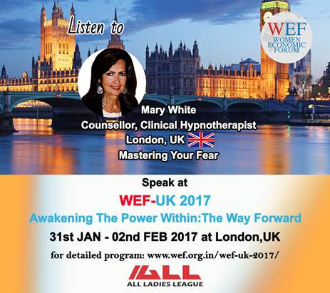 Mary White of Cornelius Counselling in Kent speaks again at Women's Economic Forum UK 2017
