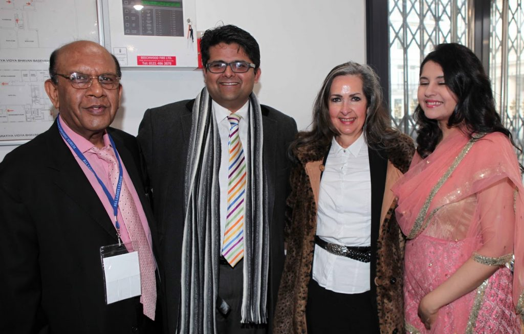 Vinay Rai, Massachusetts Institute of Technology; Dr. Satya Shah, Principal Lecturer at University of Greenwich, Mary White and Dr. Harbeen Arora, Global Chairperson of All Ladies League & WEF