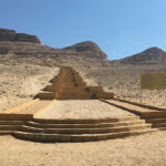 Steps to Beni Hassan Tombs
